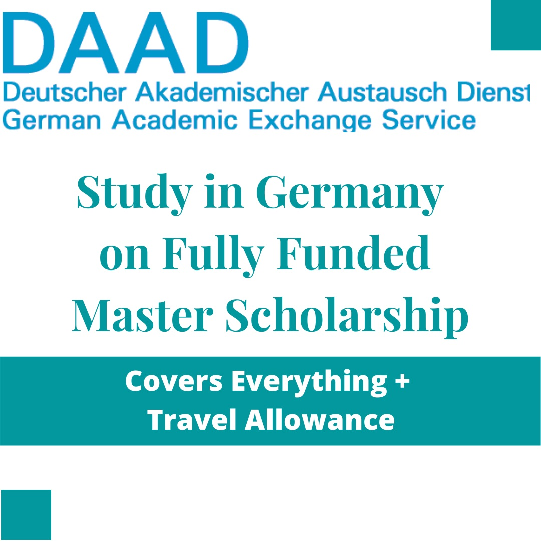 DAAD Helmut Schmidt Scholarship in Germany 2021 - Fully Funded