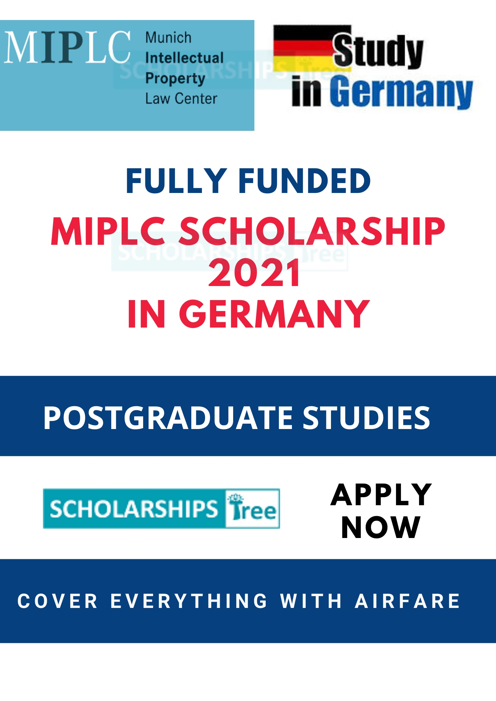 MIPLC Scholarship in Germany 2021-2022 - Fully Funded