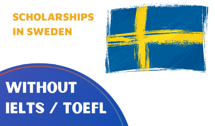 Scholarships in Sweden 2022/23 without IELTS Study in Europe